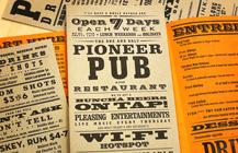 PIONEER PUB MENU